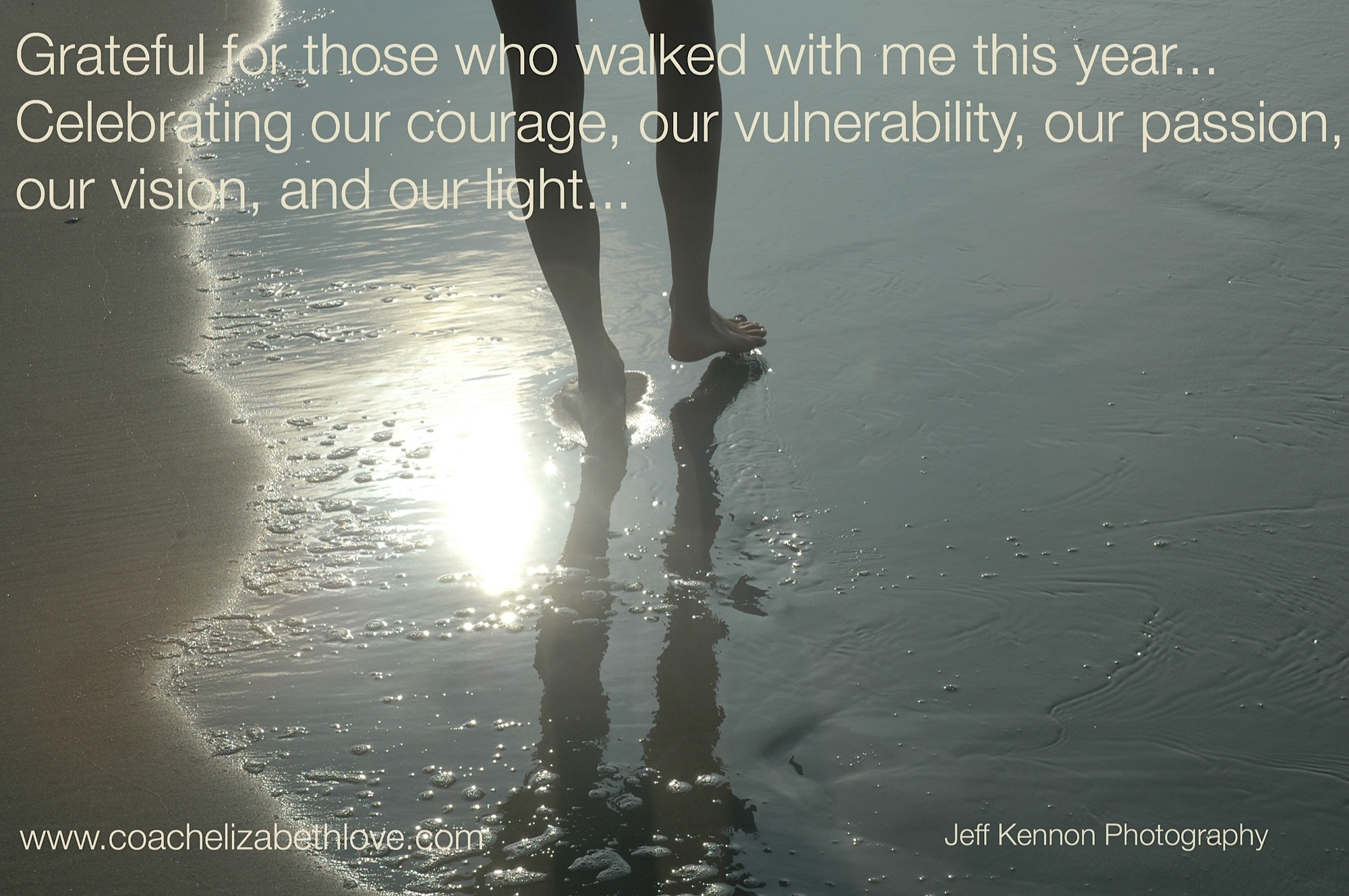 Grateful for those who walked with me